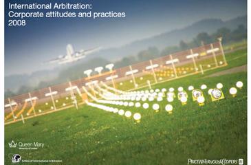 PriceWaterHouse Coopers SIA arbitration survey 2008